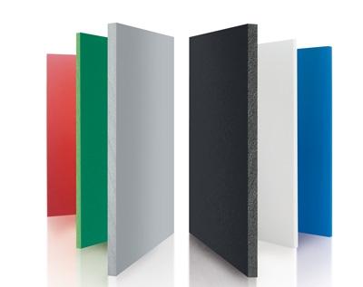 pvc freischaumplatten produkte von k nig kunststoffe. Black Bedroom Furniture Sets. Home Design Ideas